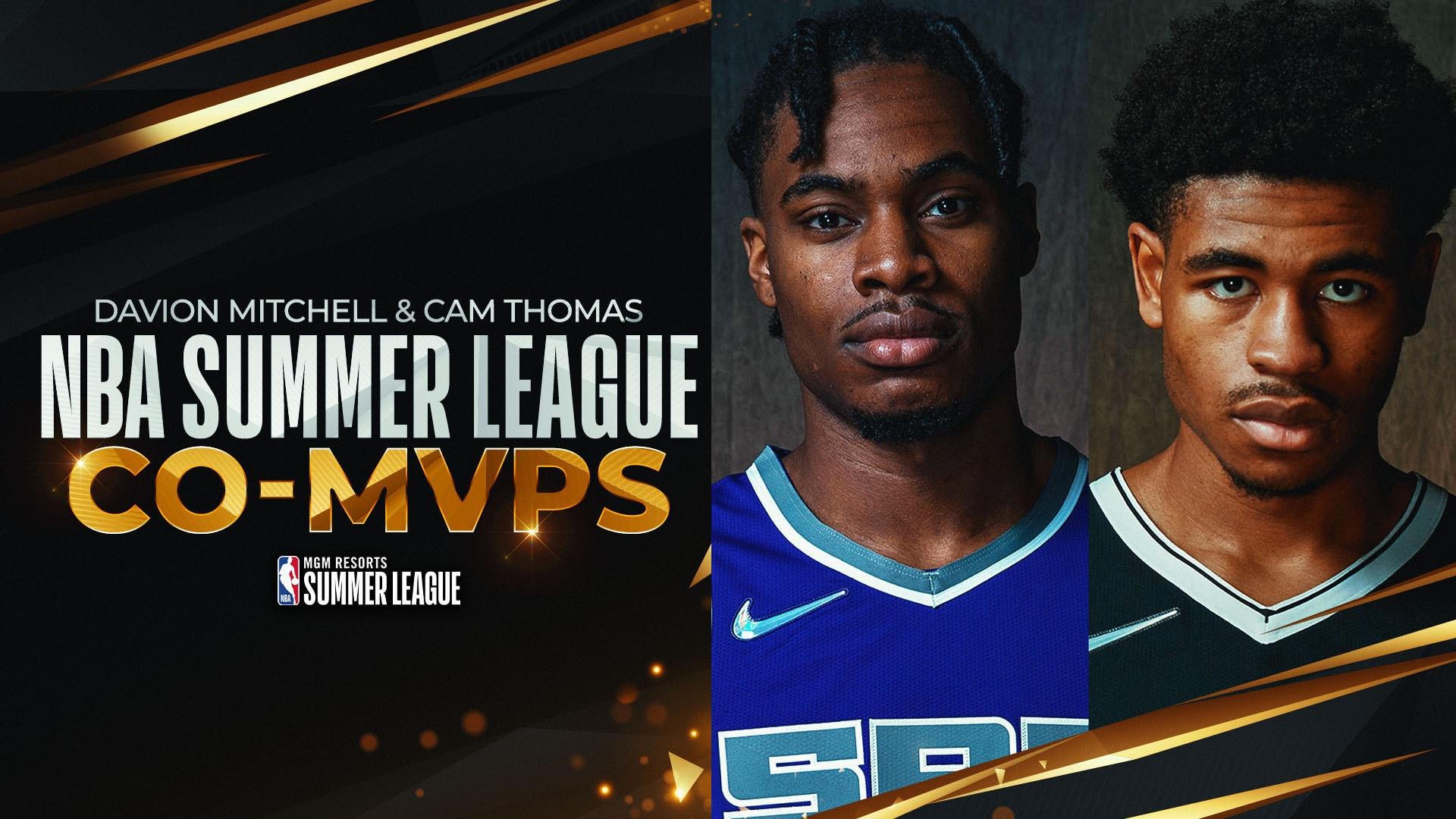 Kings' Davion Mitchell, Nets' Cam Thomas named Summer League co-MVPs