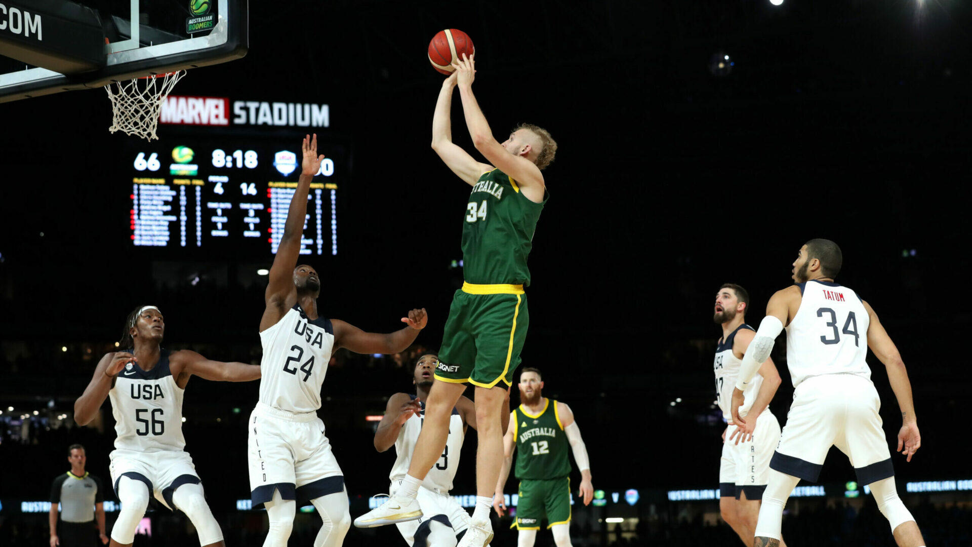 Jock Landale reportedly signs with Spurs, Olympics may send even more international players to NBA