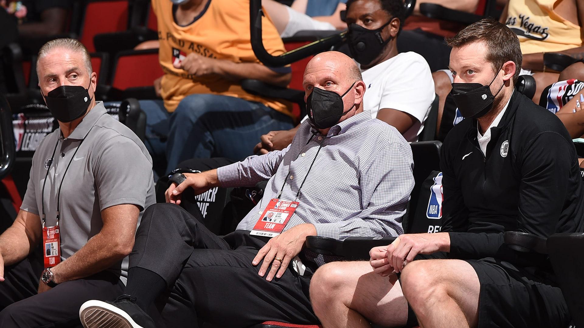 Photos: NBA stars, celebrities watch Summer League