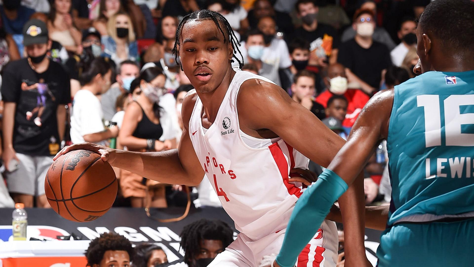Las Vegas Summer League: Scottie Barnes lifts Raptors over Hornets