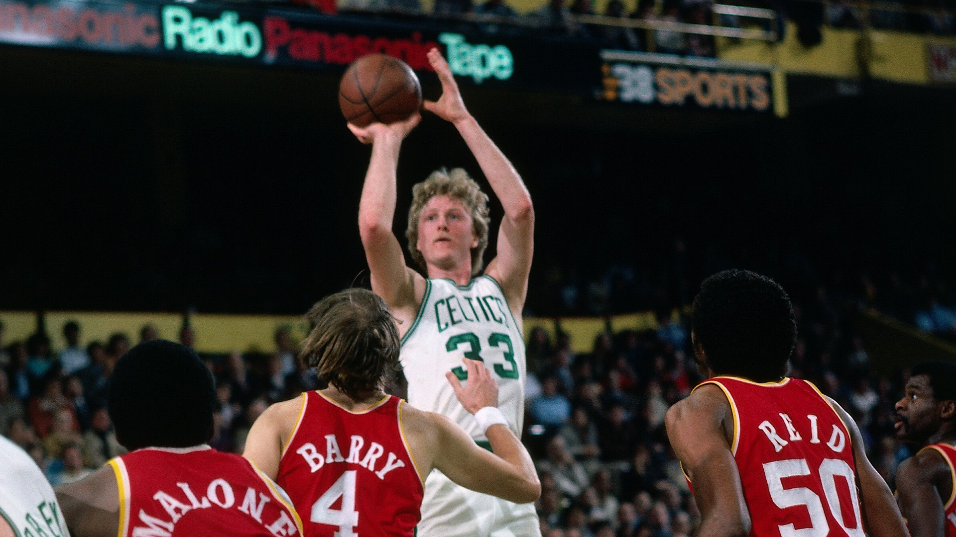 Top Moments: Larry Bird displays court instincts on grand stage