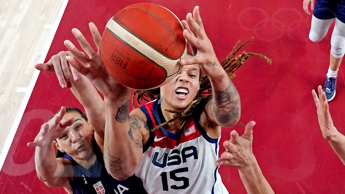 Britney Griner leads U.S. to gold medal game with 79-59 win vs. Serbia