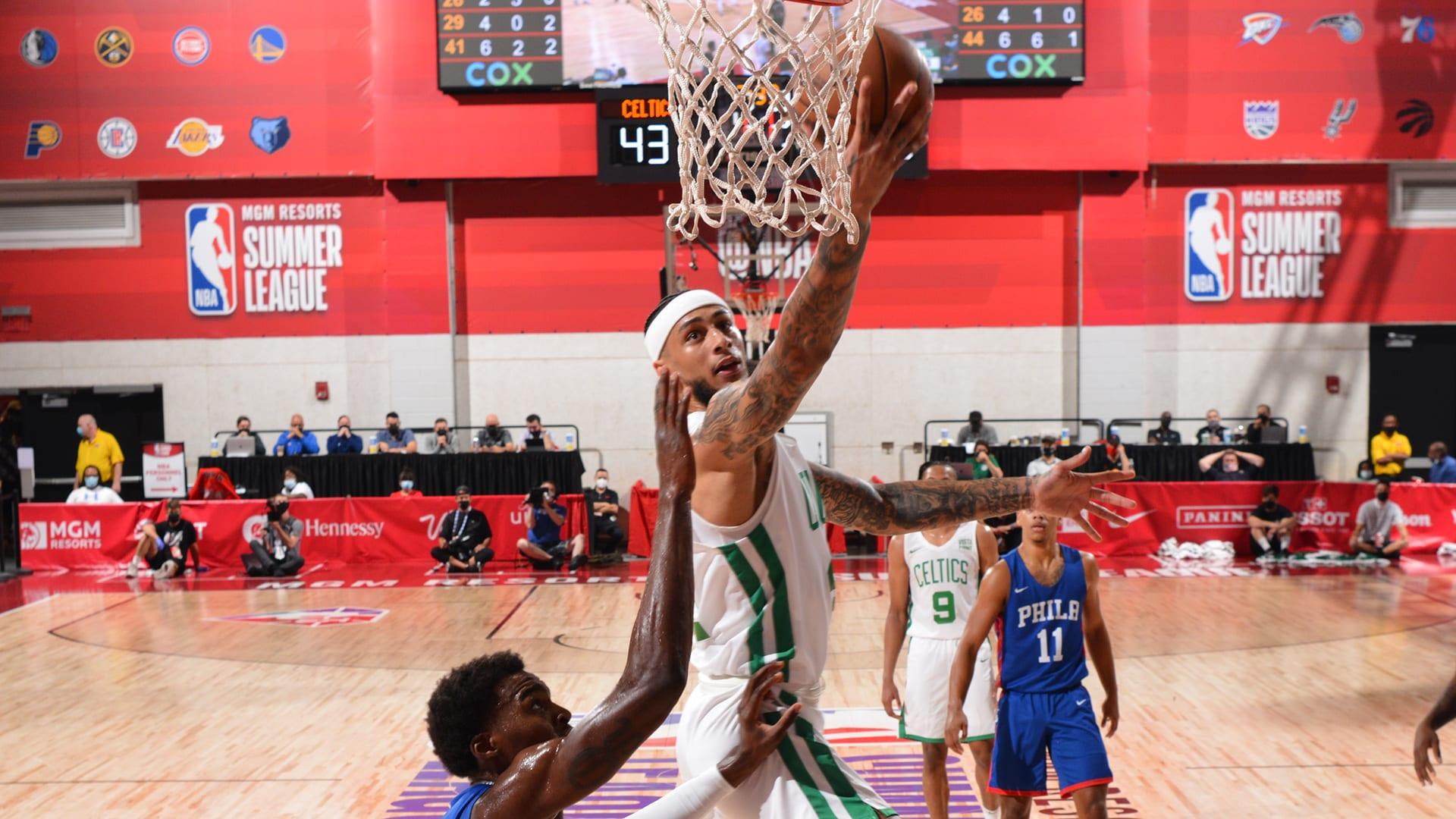 Las Vegas Summer League: Balanced attack helps Celtics rout 76ers