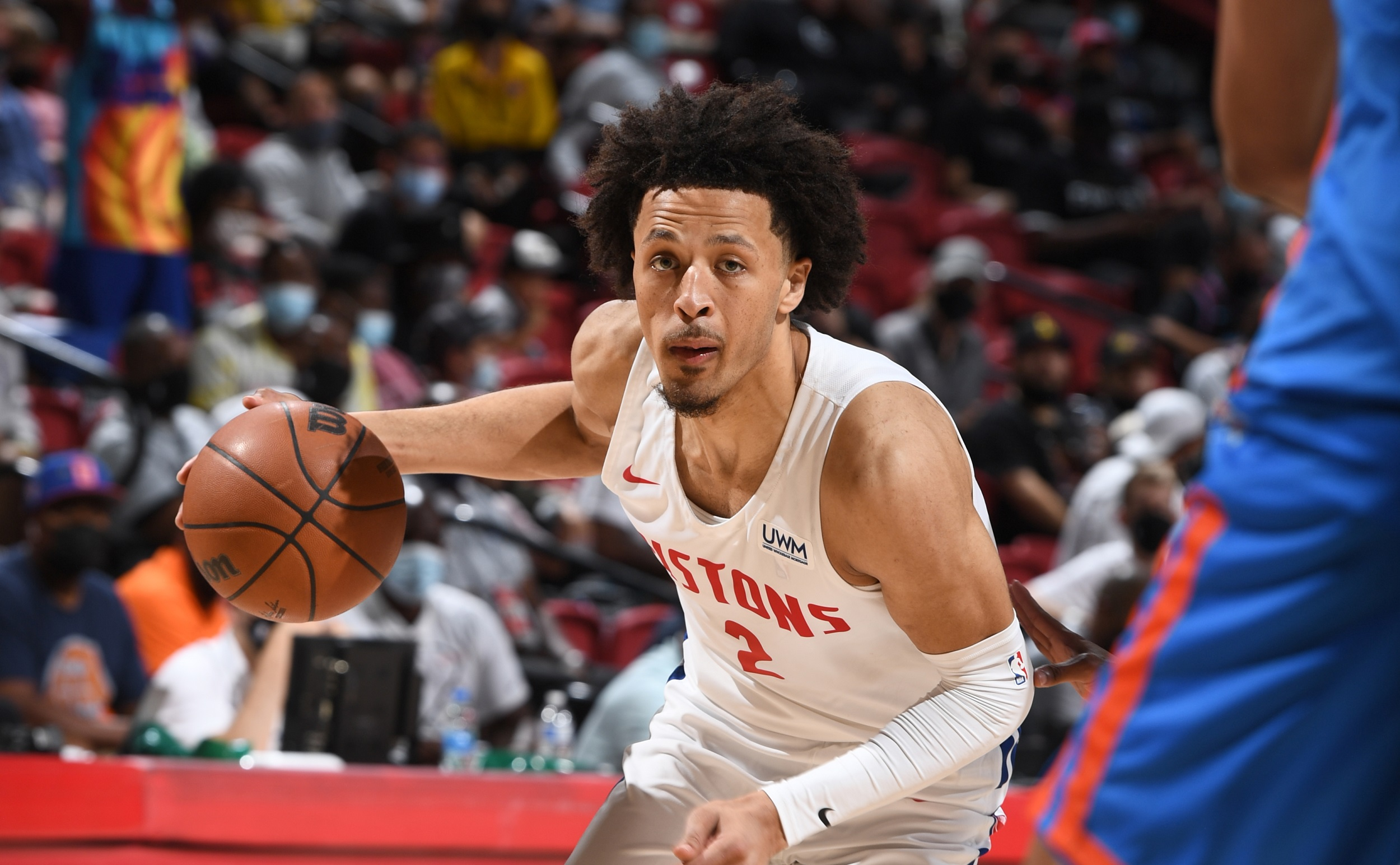 Cade Cunningham shows potential in Summer League debut