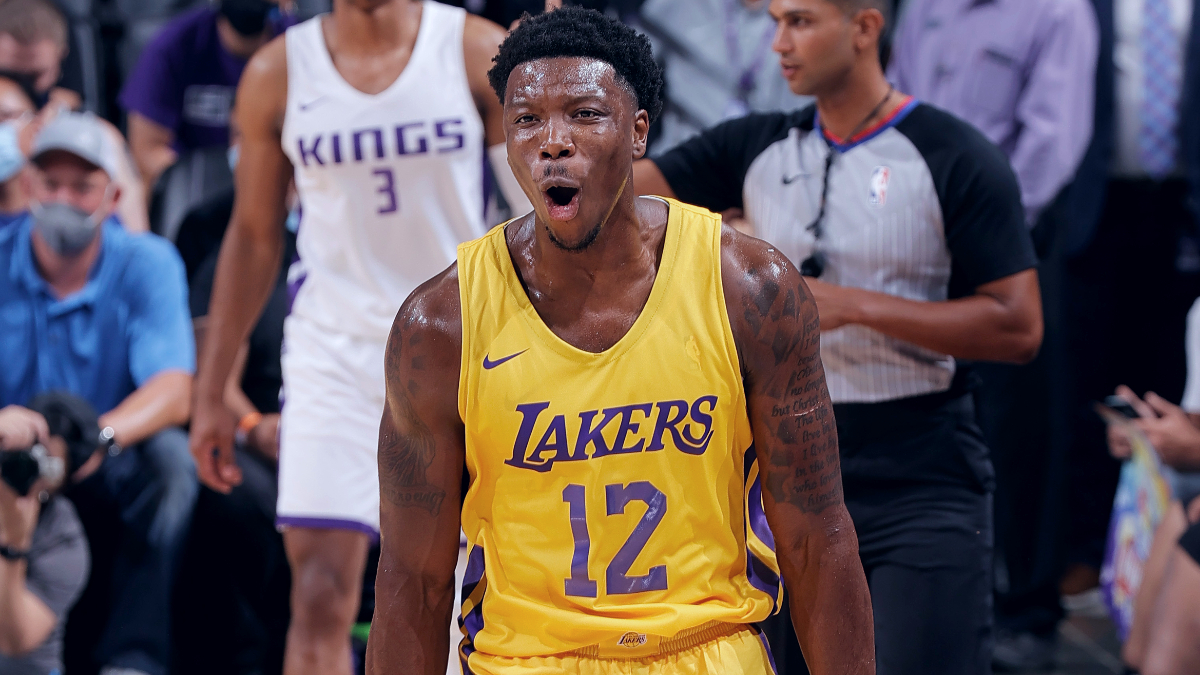 Devontae Cacok, Lakers storm back to beat Kings in California Classic finale