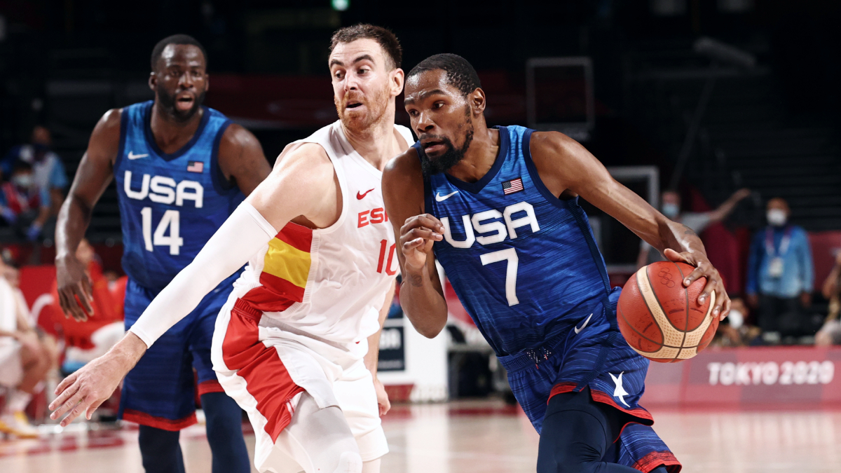 Team USA overcomes slow start, beats Spain in Olympic quarterfinals