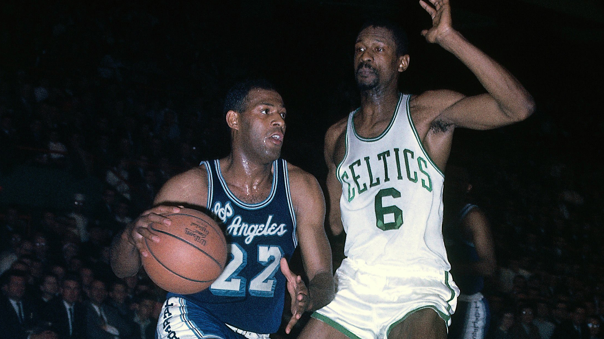 Top Moments: Elgin Baylor's 61-point night not enough for Lakers in 1962 NBA Finals