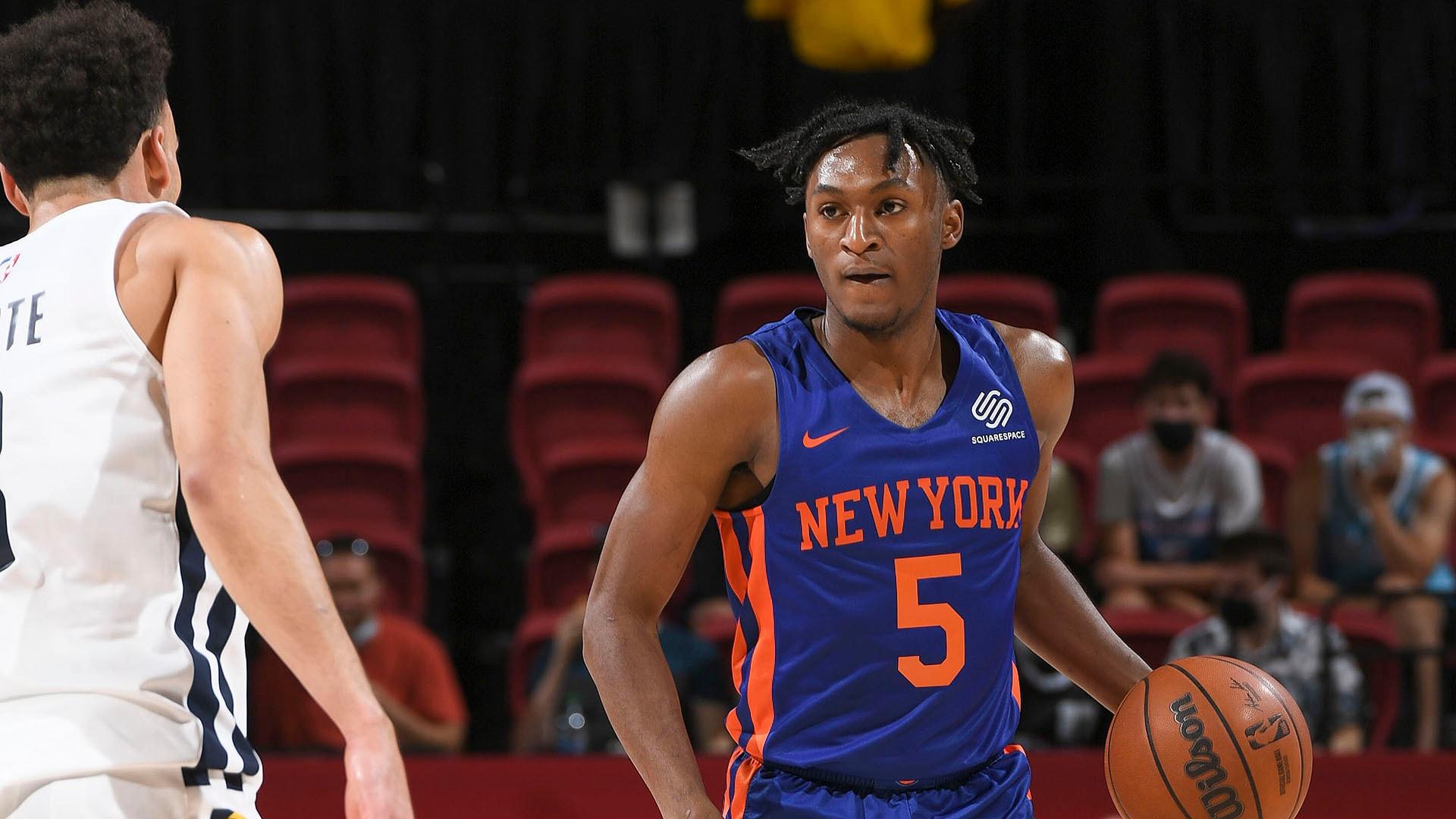 Las Vegas Summer League: Immanuel Quickley leads Knicks past Pacers