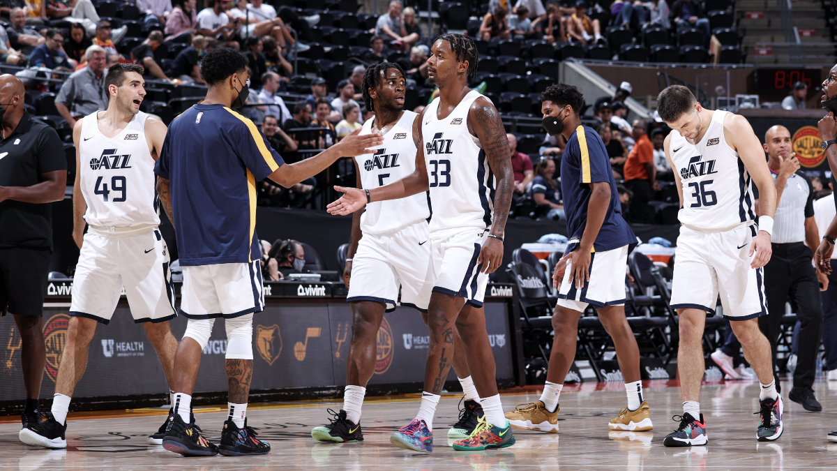 Udoka Azubuike, Trent Forrest too much for Grizzlies in Jazz White victory