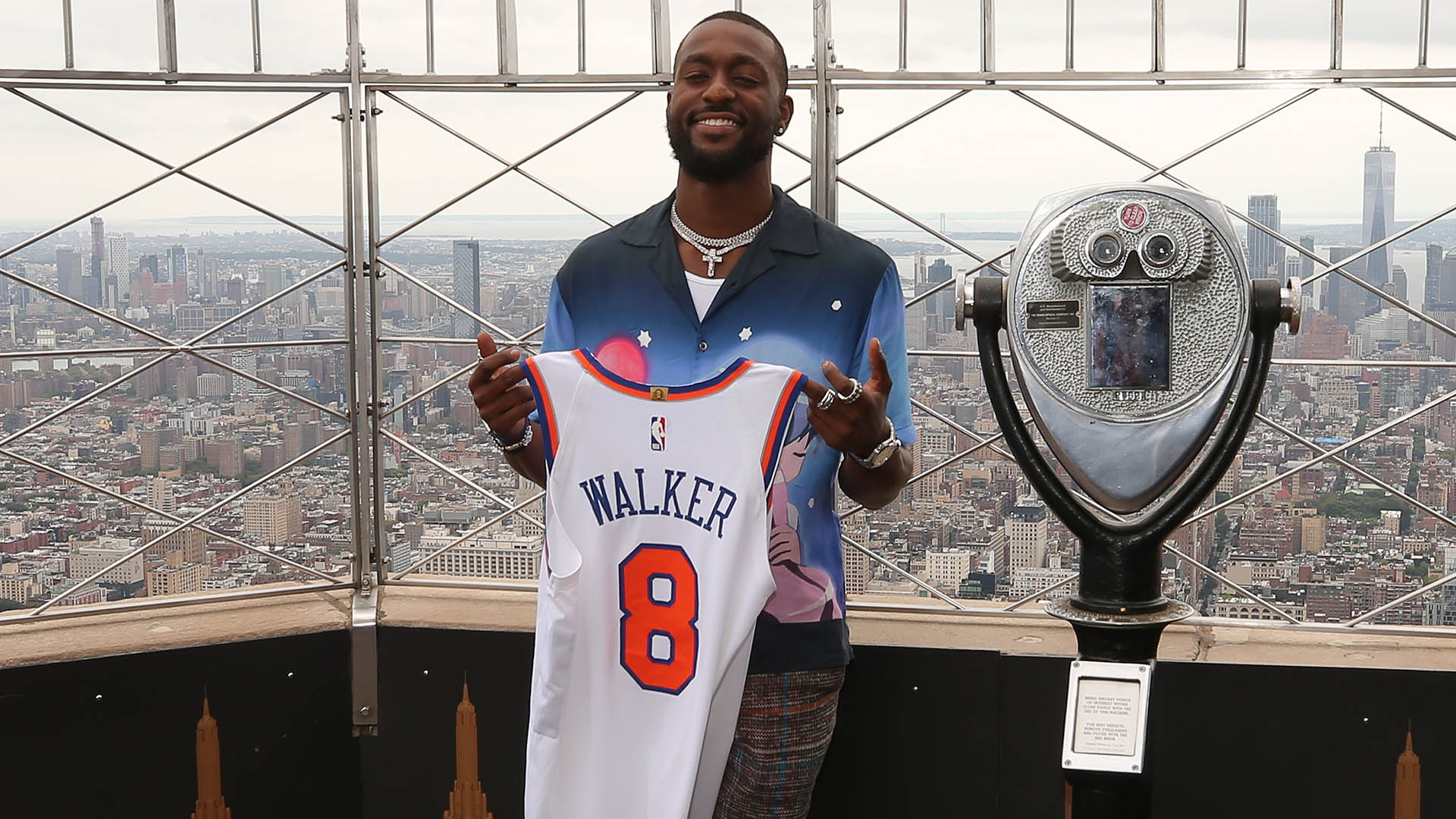 Kemba Walker: 'Perfect timing' in moving to Knicks