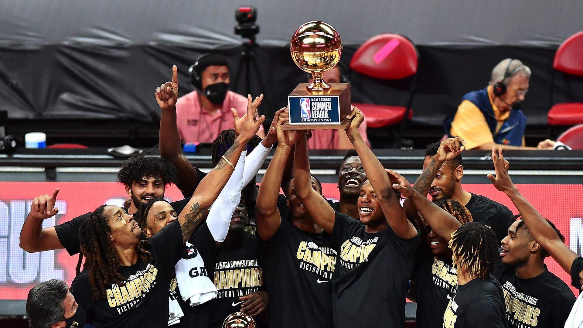 Las Vegas Summer League: Kings rout Celtics for Summer League title