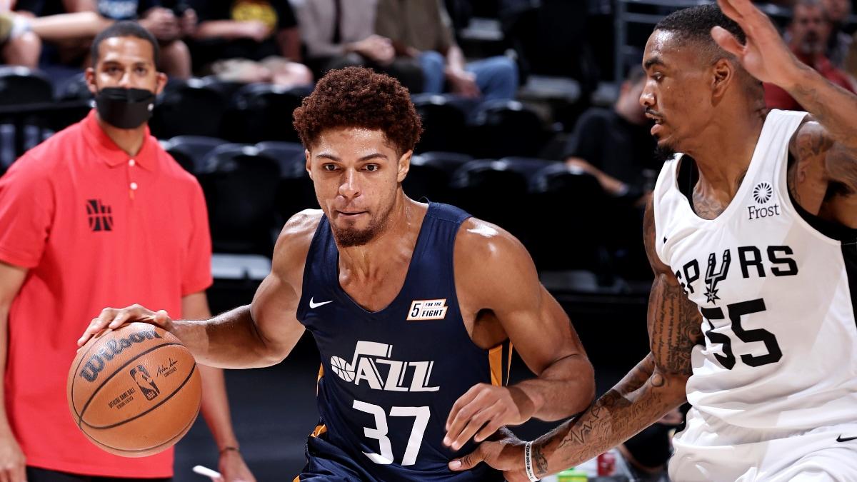 Salt Lake City Summer League: MaCio Teague leads Jazz Blue past Spurs