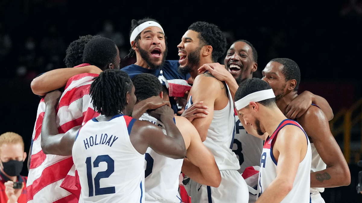 Golden again! Kevin Durant leads Team USA to 4th consecutive Olympic title