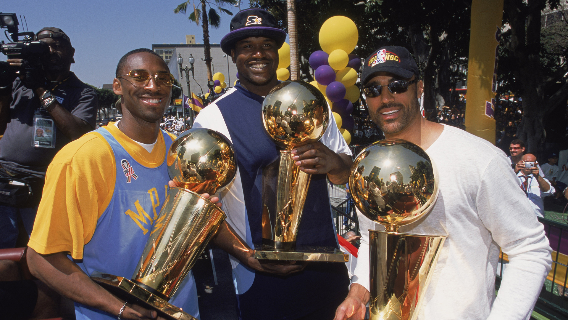 Top Moments: Lakers complete 5th 'three-peat' in NBA history