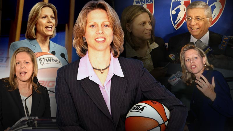 Hall of Fame 2021: Val Ackerman infographic