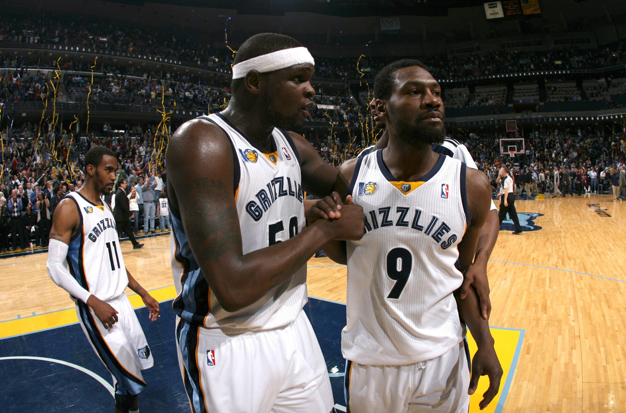 Memphis Grizzlies to retire Zach Randolph and Tony Allen jerseys