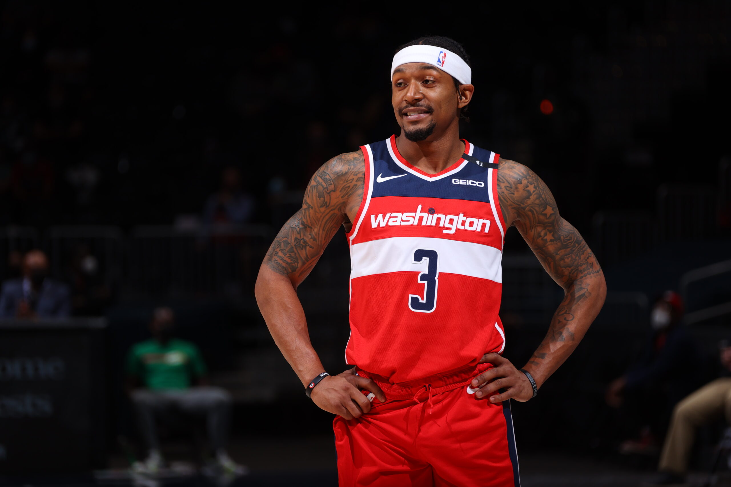 Wizards star Bradley Beal out against Pacers with hip issues