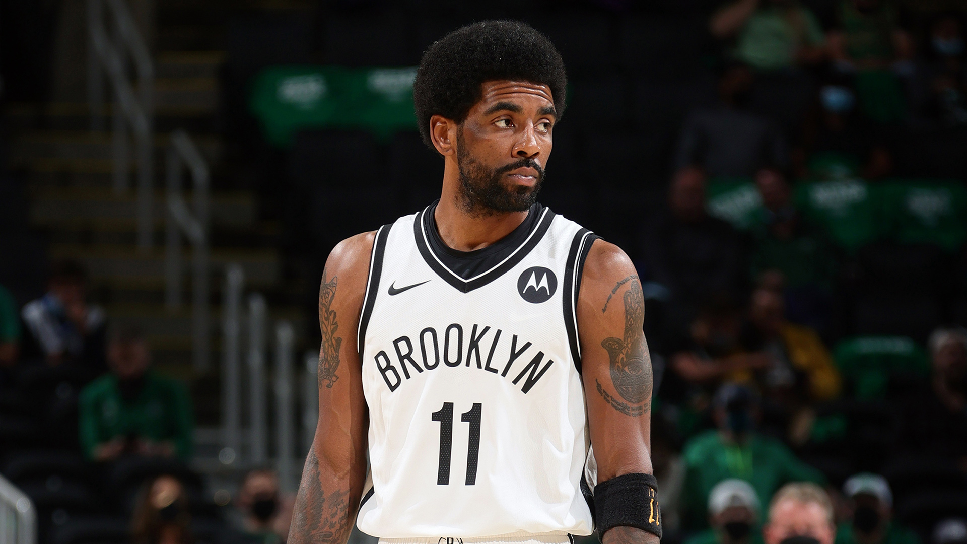 Nets announce Kyrie Irving won't play or practice with team