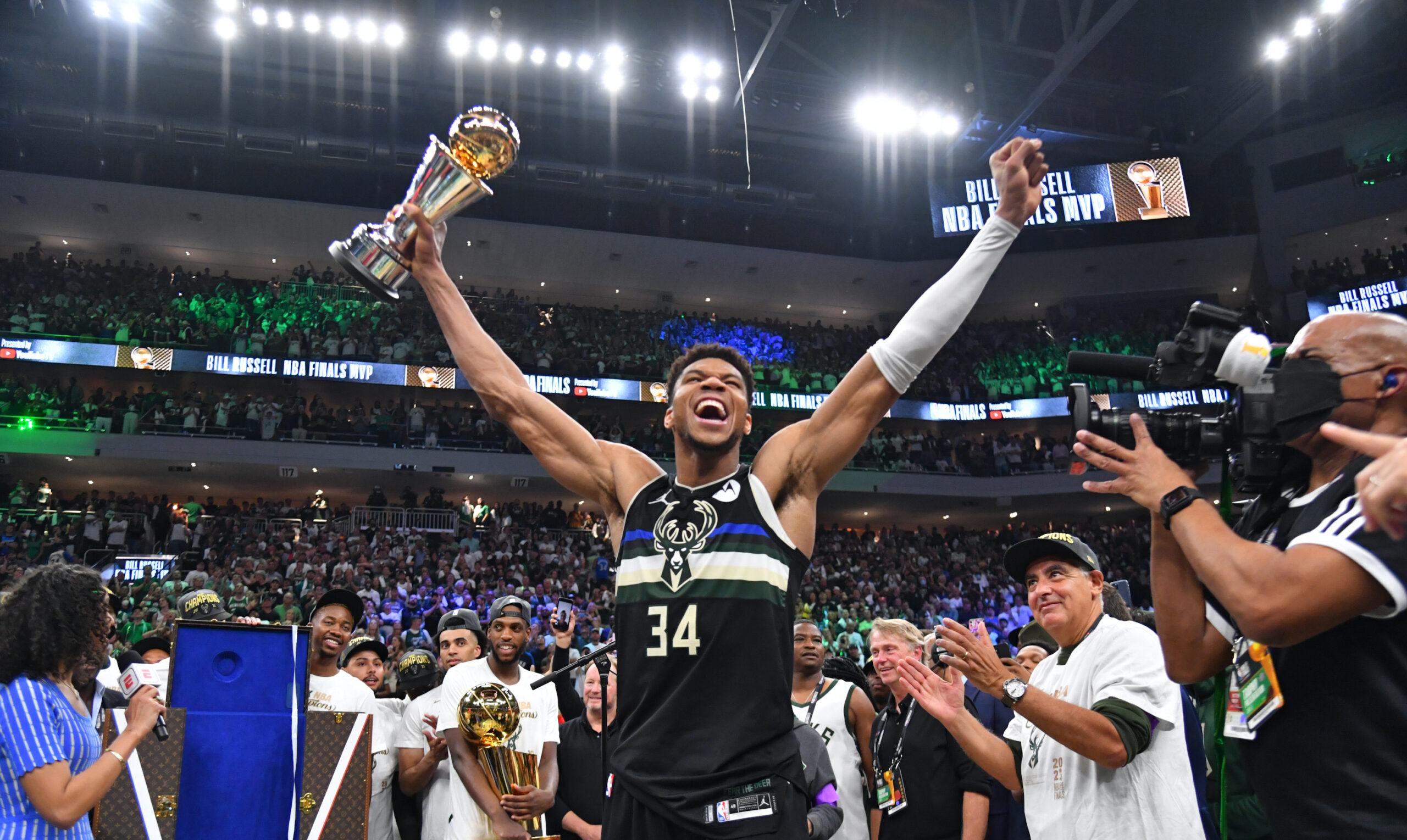 Milwaukee Bucks look to repeat, without losing their edge
