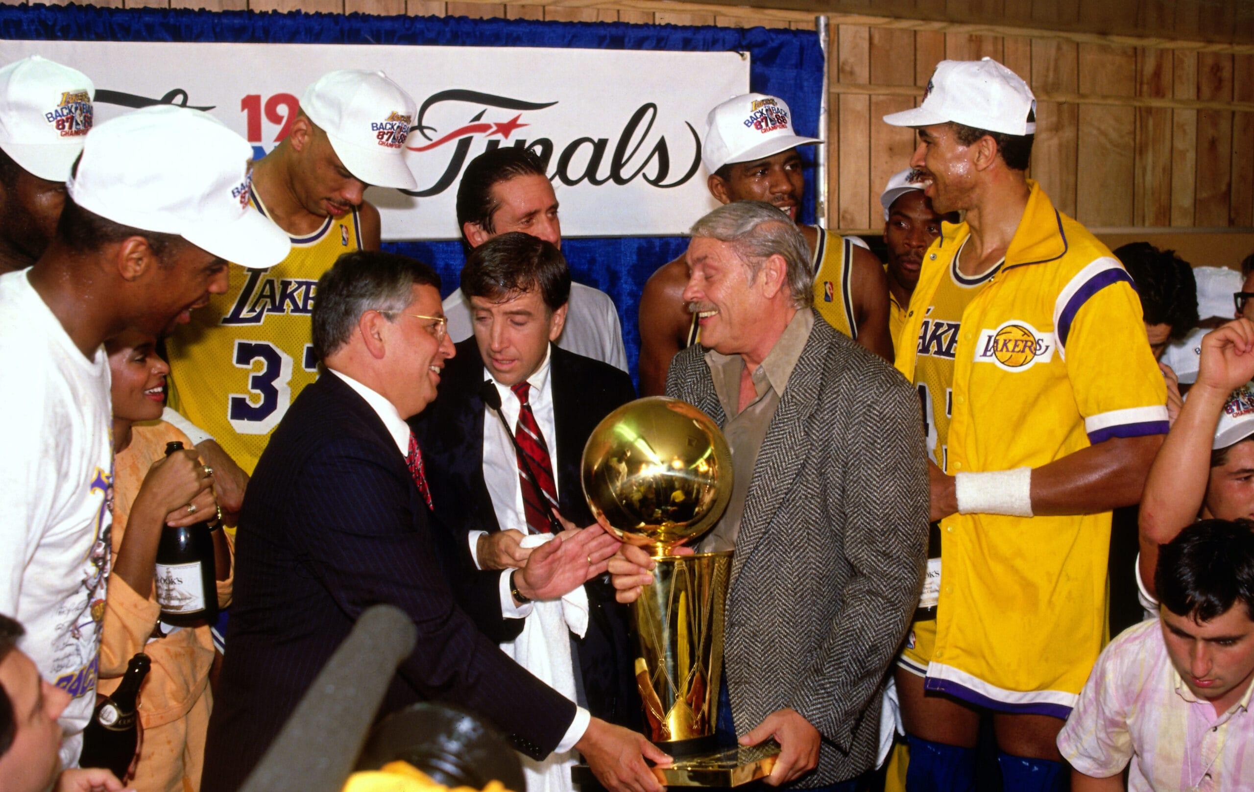 Top Moments: Lakers make good on Pat Riley's guarantee of repeat