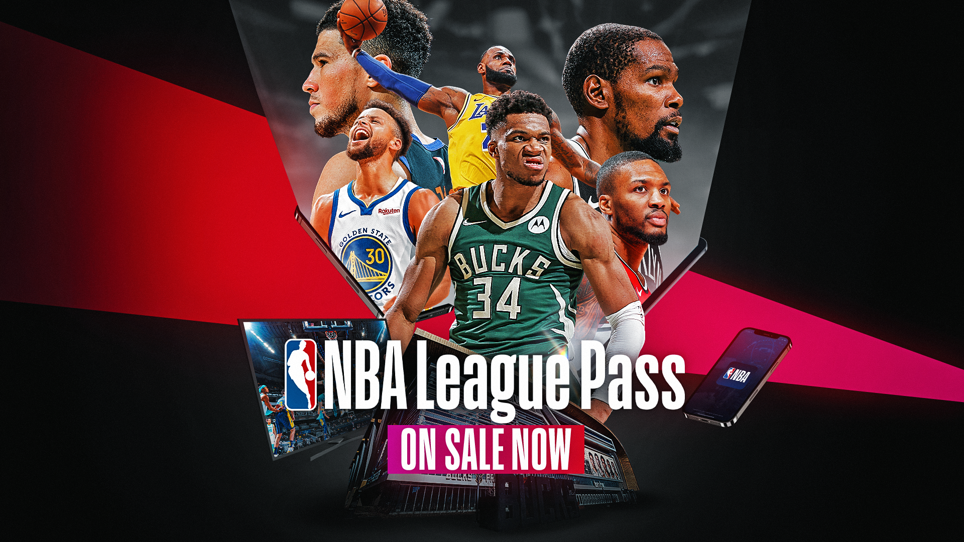 On Sale Now: Watch the NBA your way