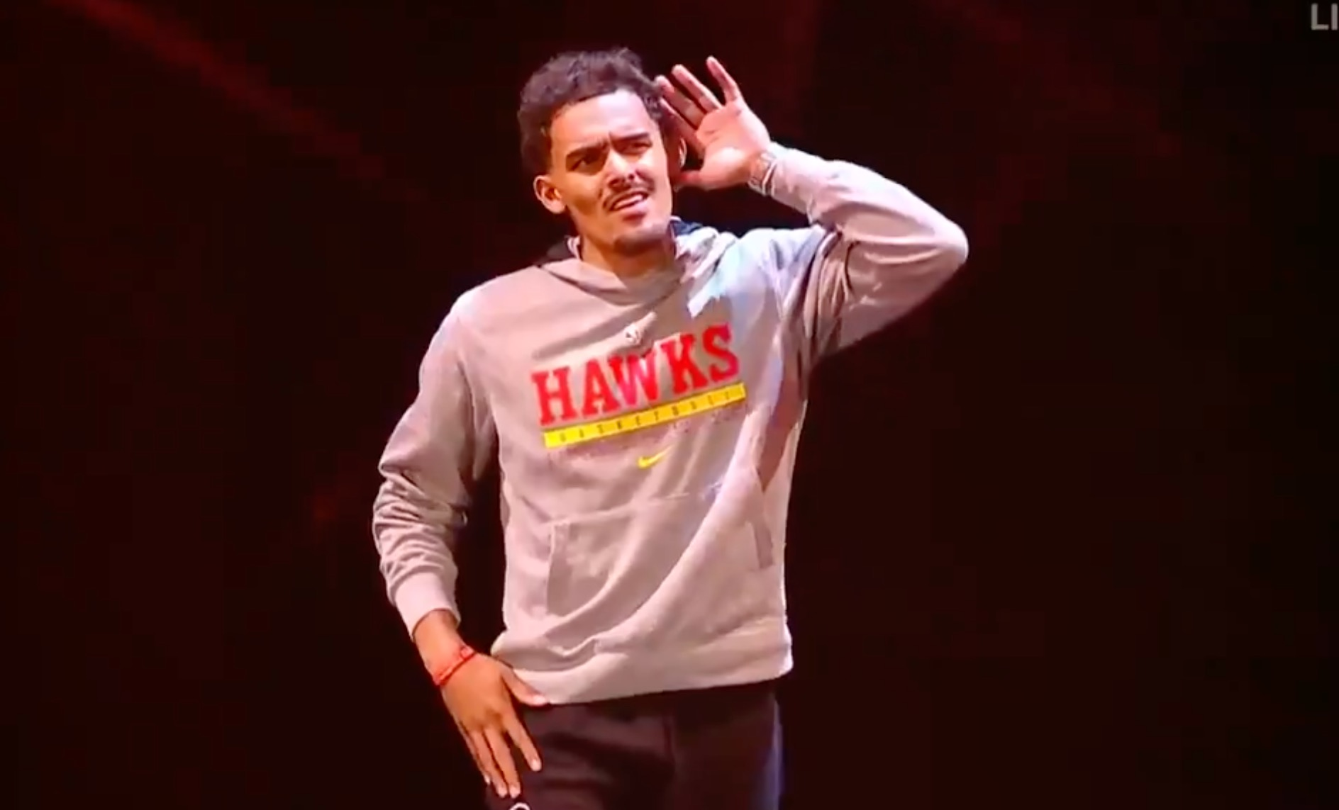 Trae Young booed in New York return for WWE SmackDown