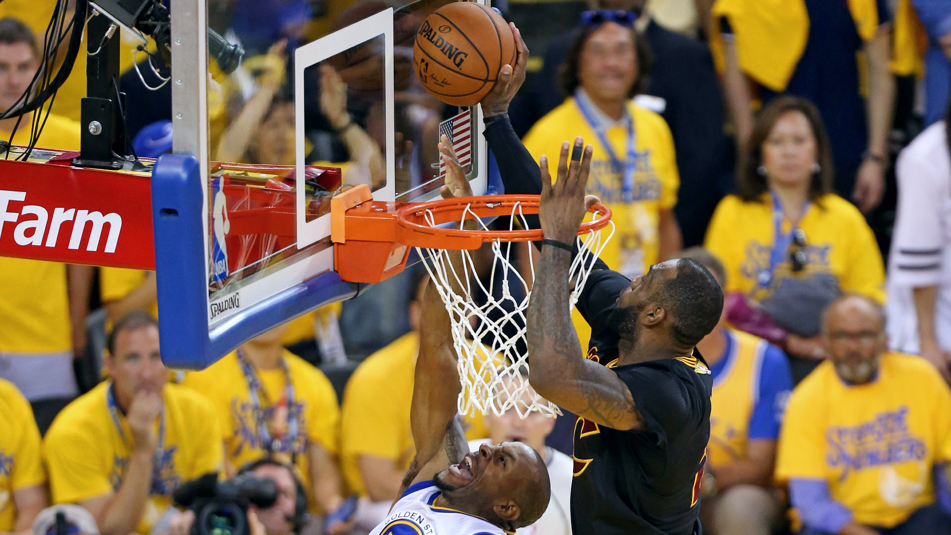 Top NBA Finals moments: LeBron James' chasedown block in Game 7 of 2016 NBA Finals