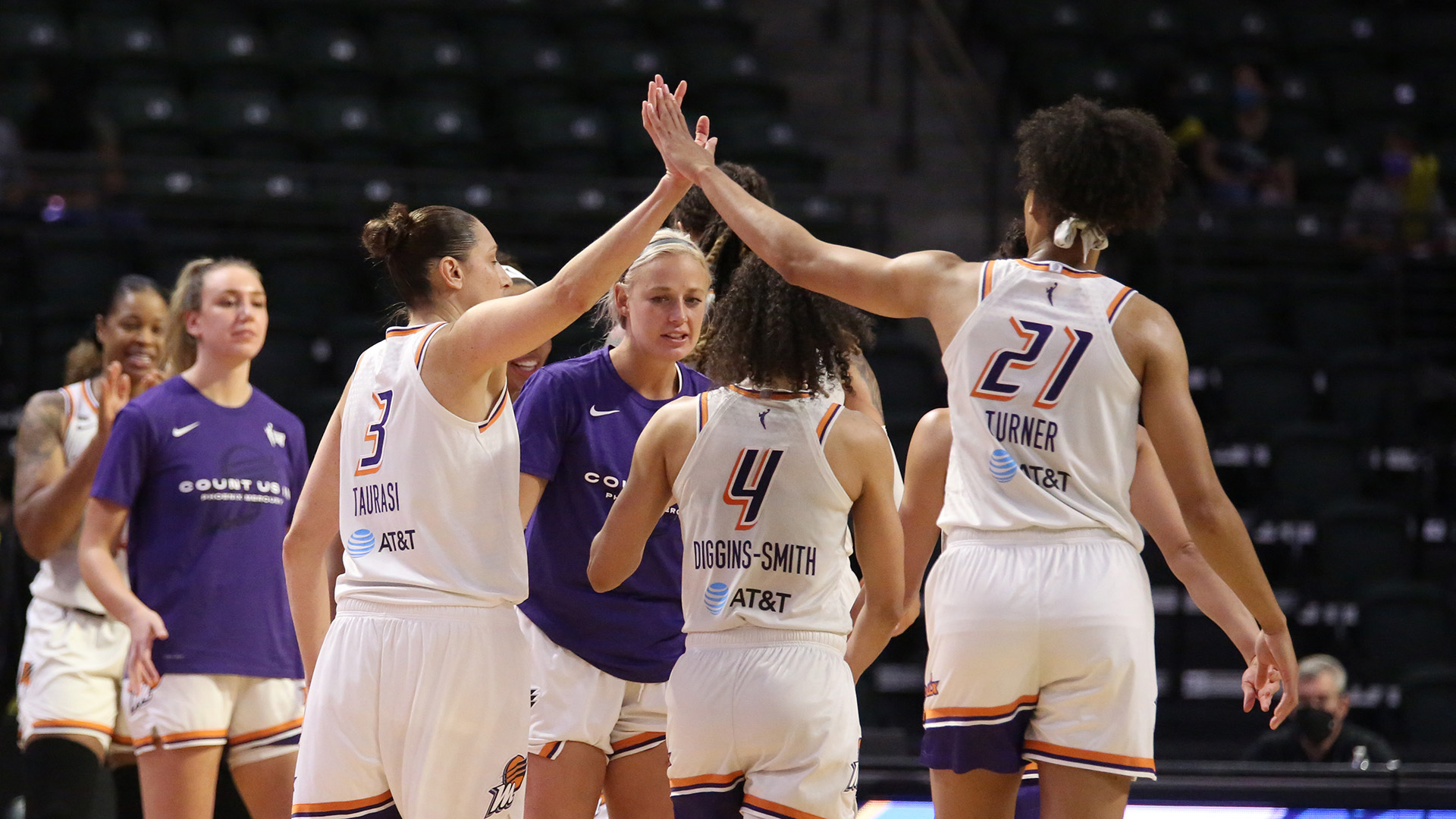 Moving on: Mercury, Sky secure spots in semifinals