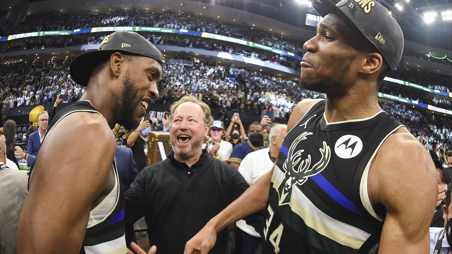 Bucks set for next challenge: Repeating as champs