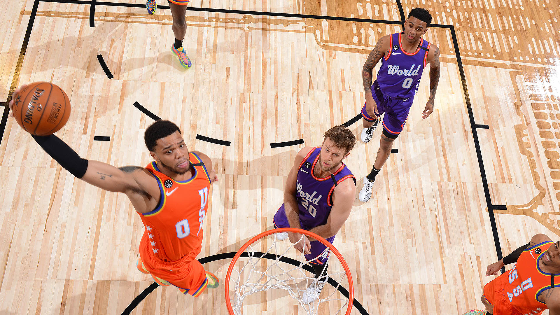 NBA All-Star Rising Stars Challenge results