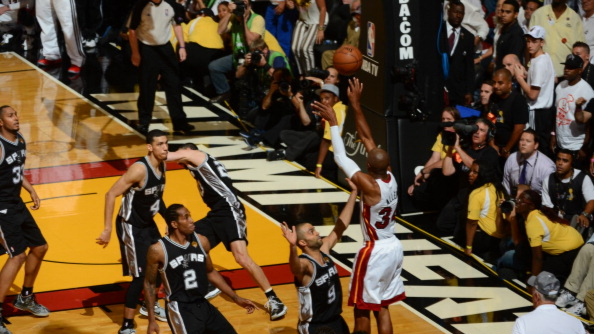 Top NBA Finals moments: Ray Allen's late 3 turns tide for Heat