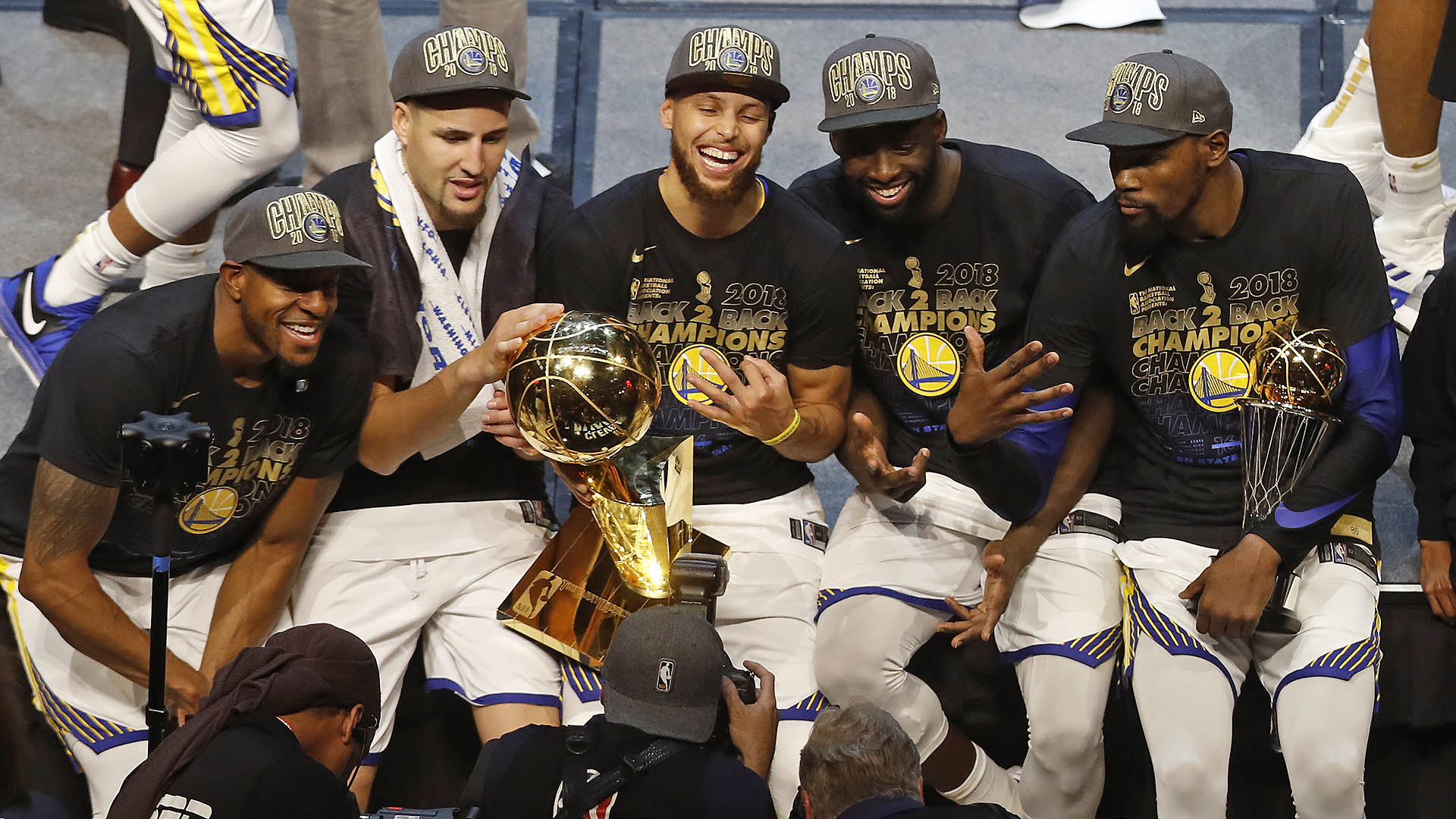 Top Moments: Heat, Warriors become back-to-back champions
