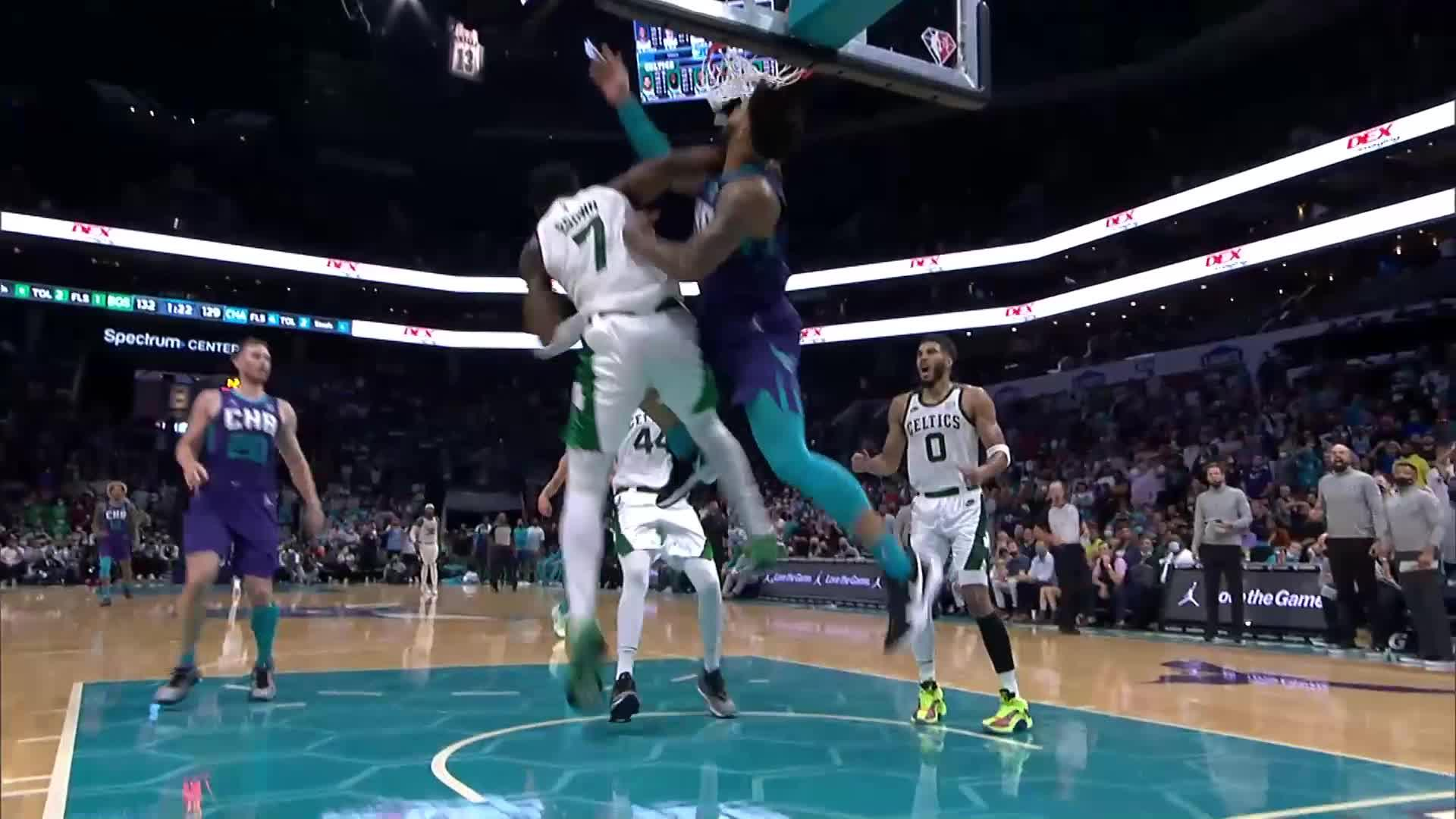 Top Plays from Charlotte Hornets vs. Boston Celtics