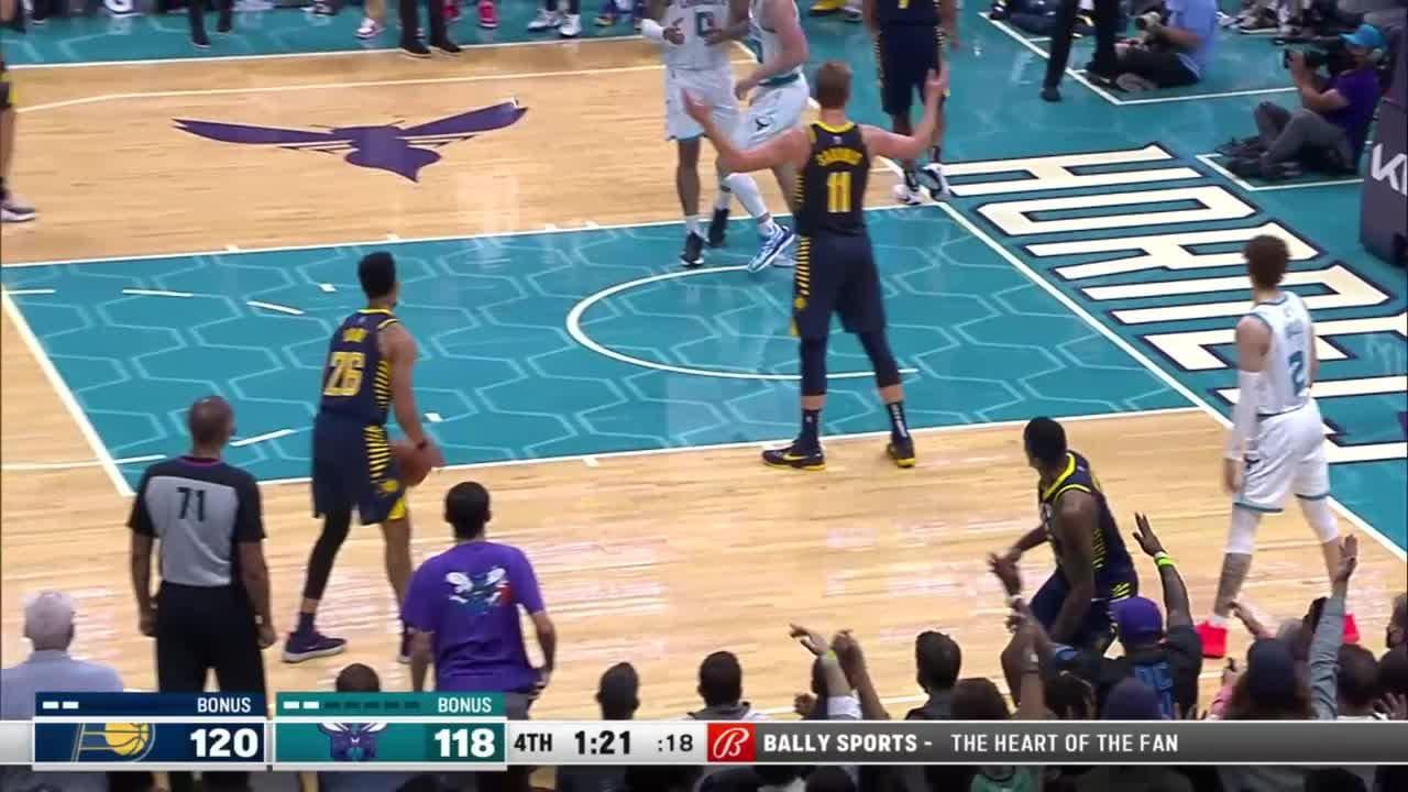 Malcolm Brogdon (28 points) Highlights vs. Charlotte Hornets