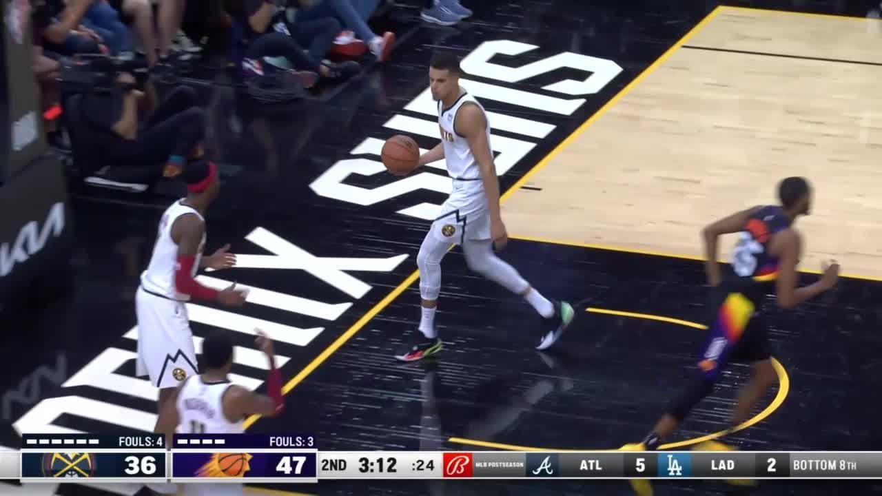 Phoenix Suns with a 11-0 Run vs. Denver Nuggets
