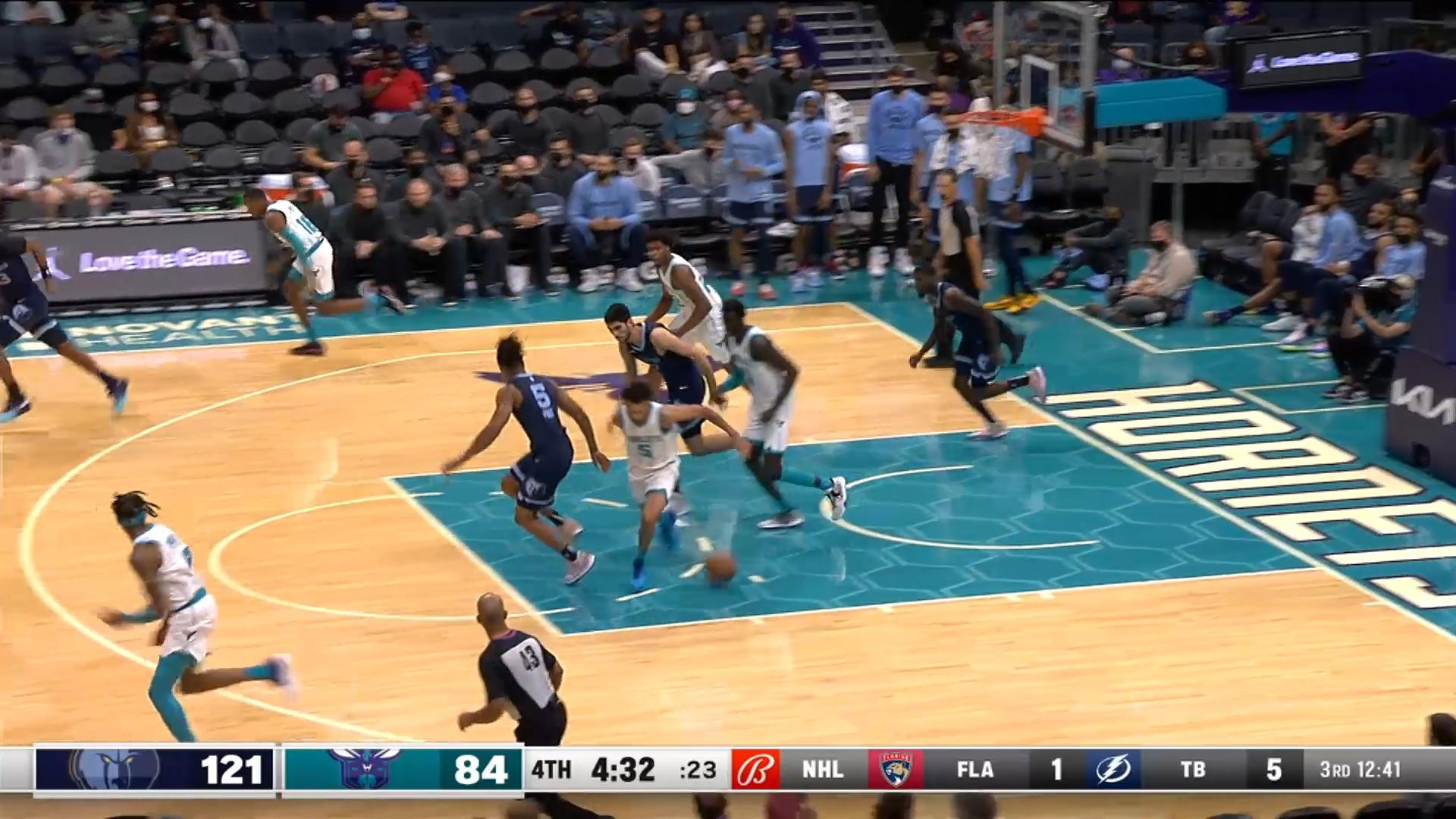 Bouknight with the poster slam!