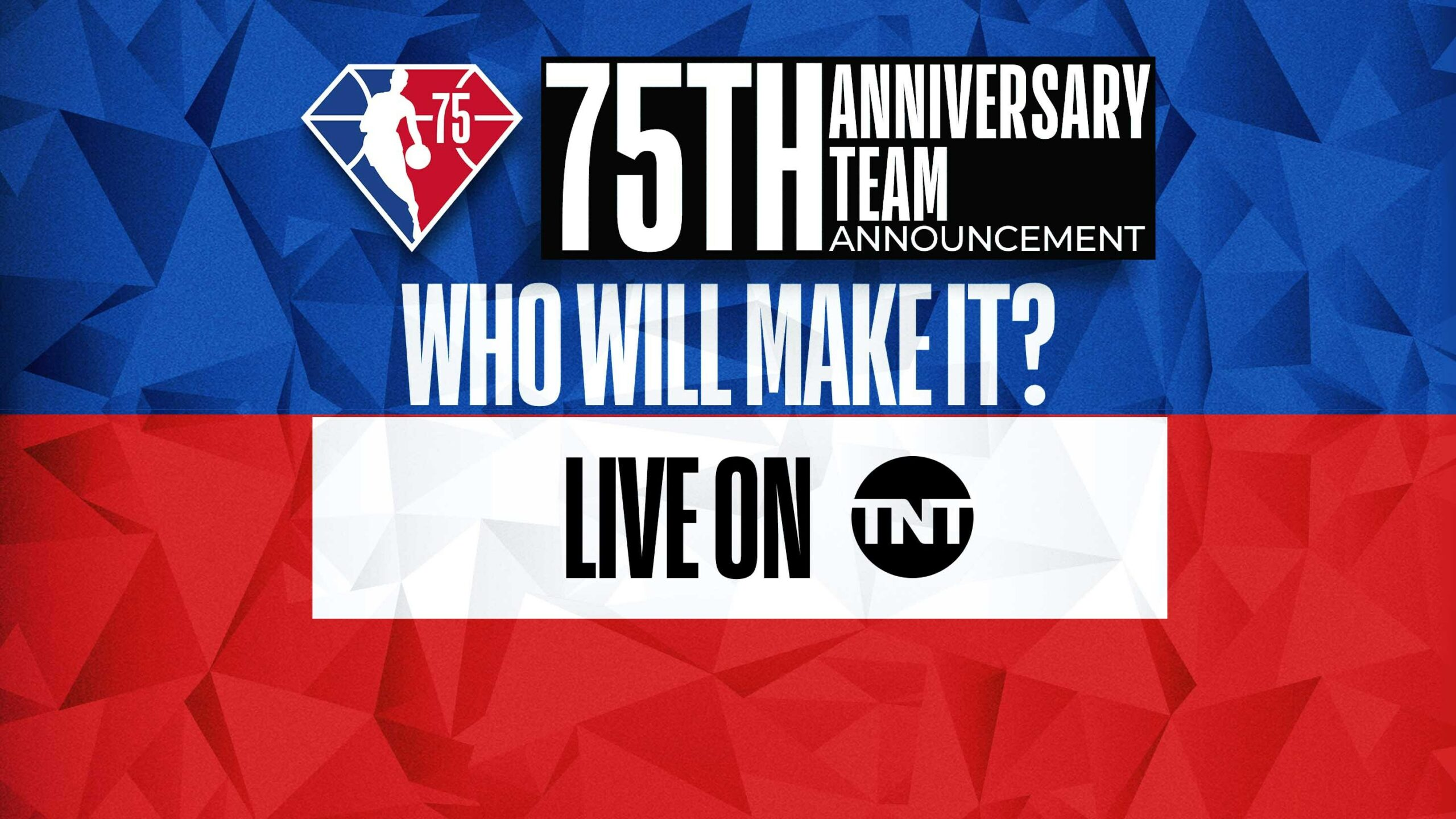 Live Now: Final members of 75th Anniversary Team unveiled