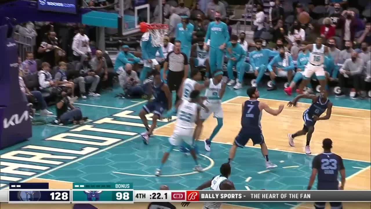 Top Plays from Charlotte Hornets vs. Memphis Grizzlies
