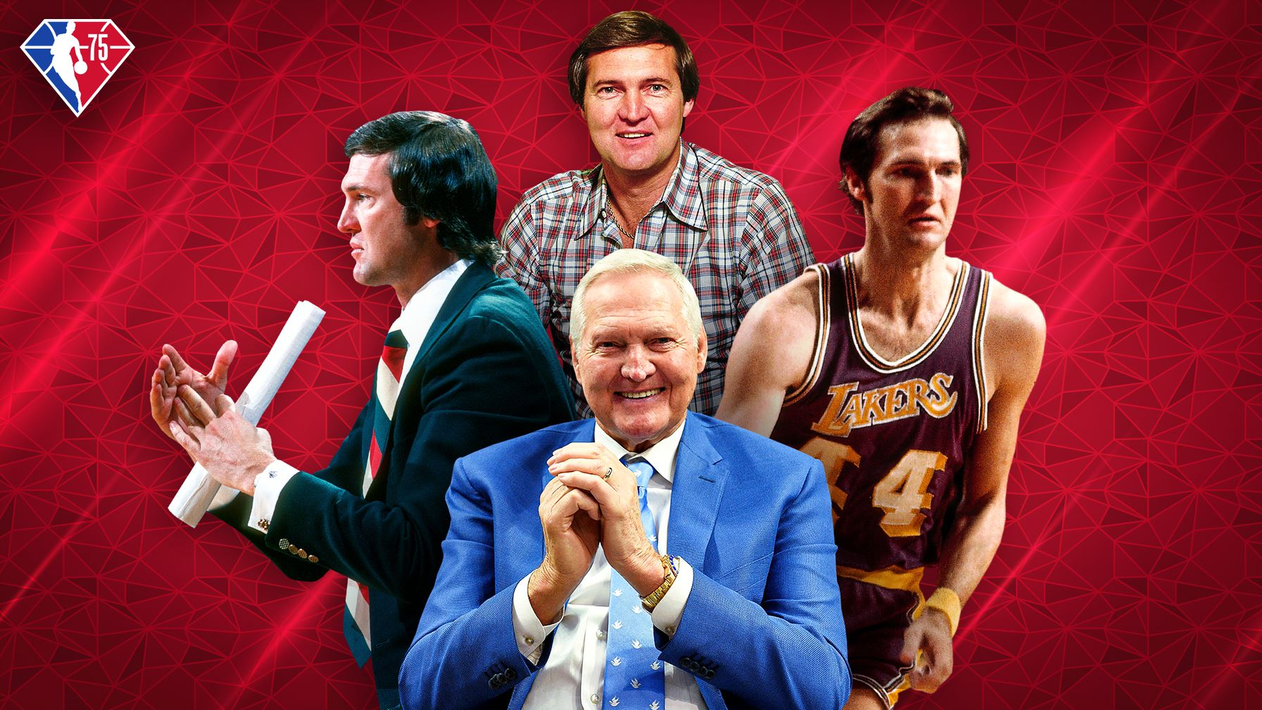 Jerry West's lifelong pursuit for love and respect