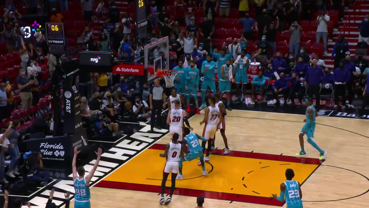 Top Plays from Miami Heat vs. Charlotte Hornets