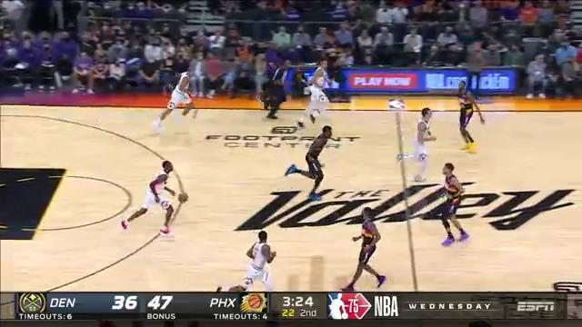 Jae Crowder steal and dish to Booker for the fast break layup
