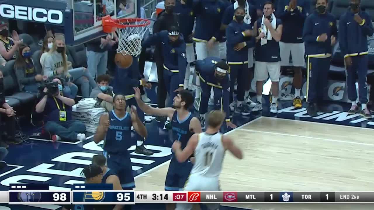Domantas Sabonis Posts 24 points & 13 rebounds vs. Memphis Grizzlies