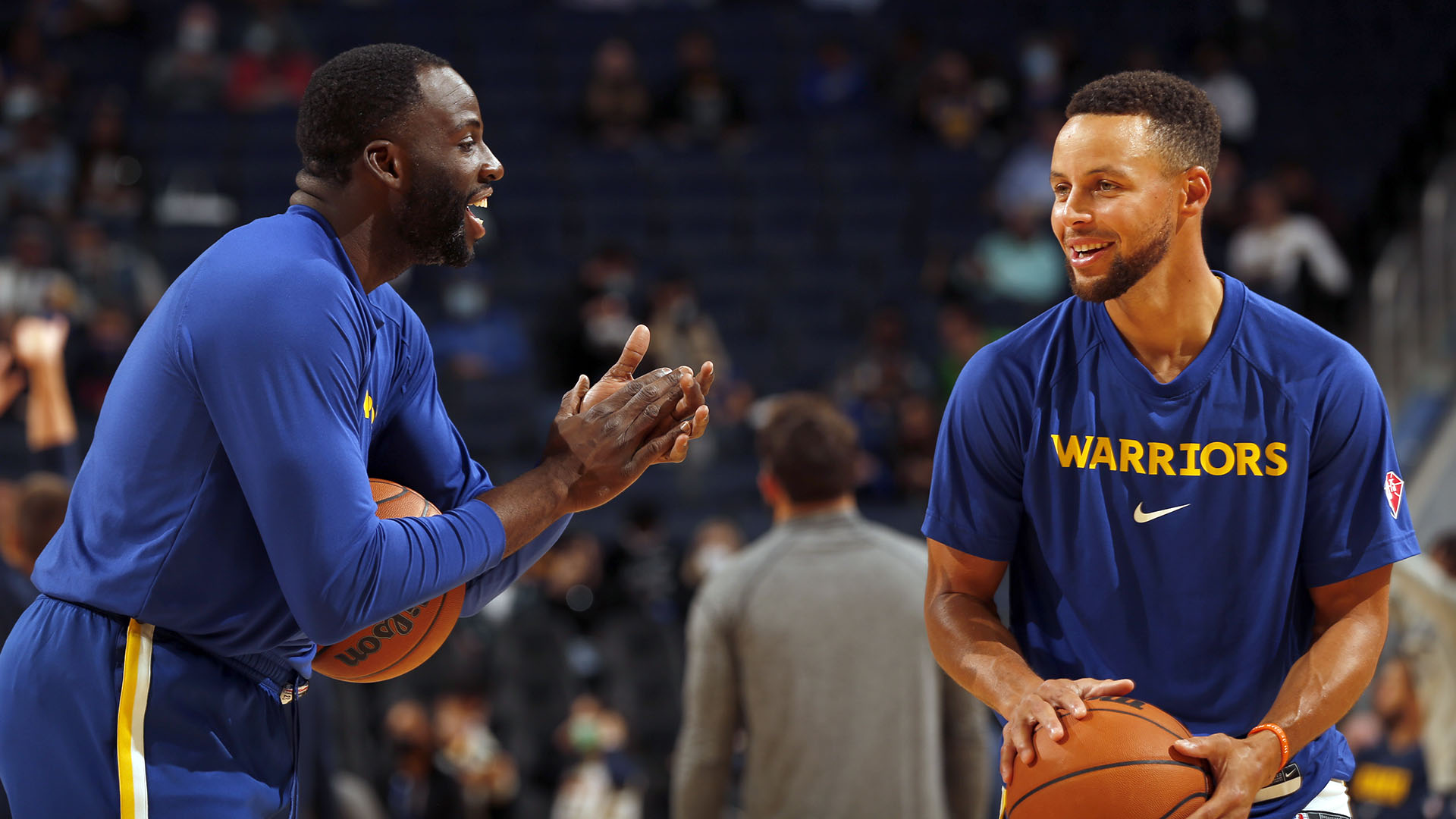 Warriors bringing 'good energy' into new season