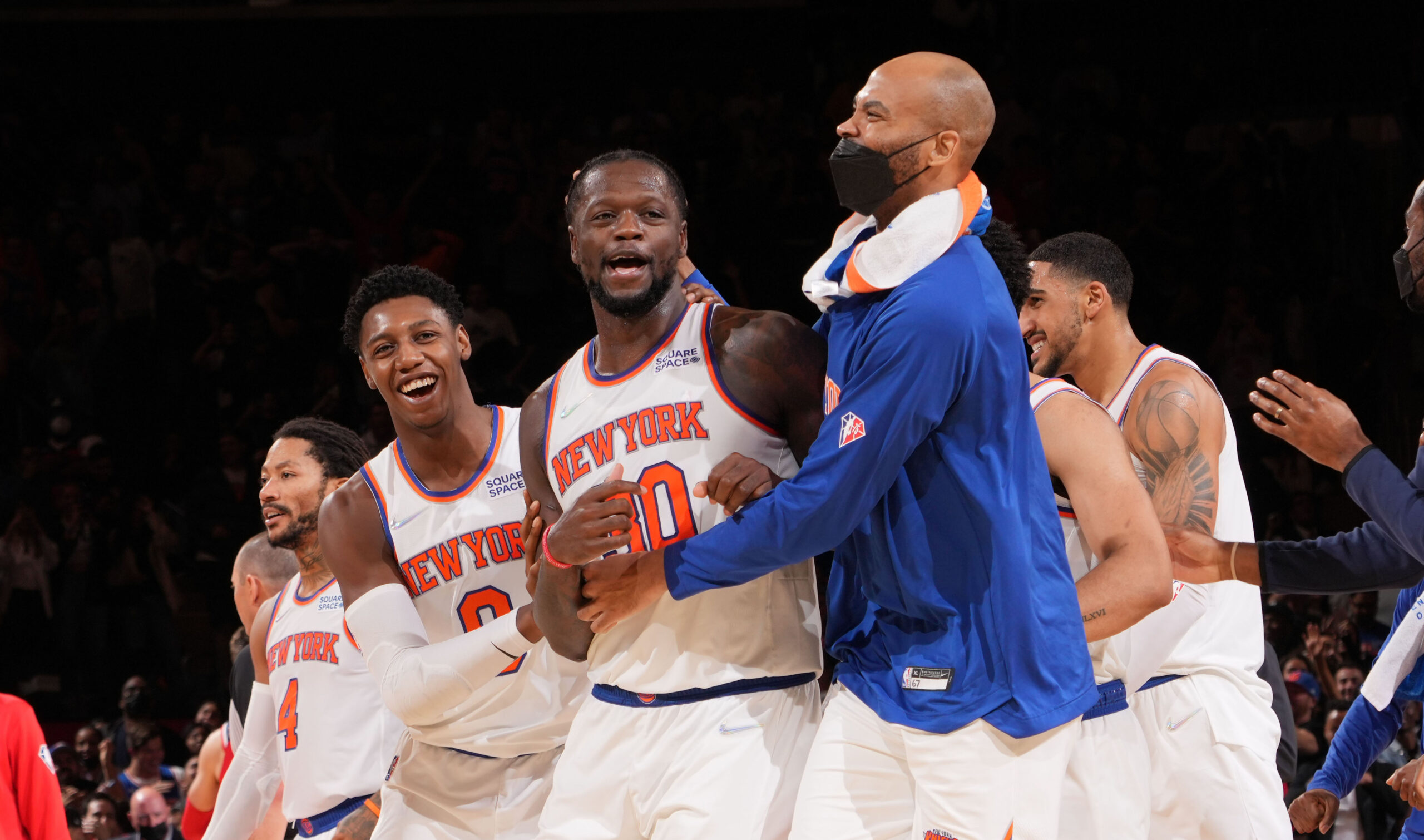 Randle's game-winner keeps Knicks preseason perfect