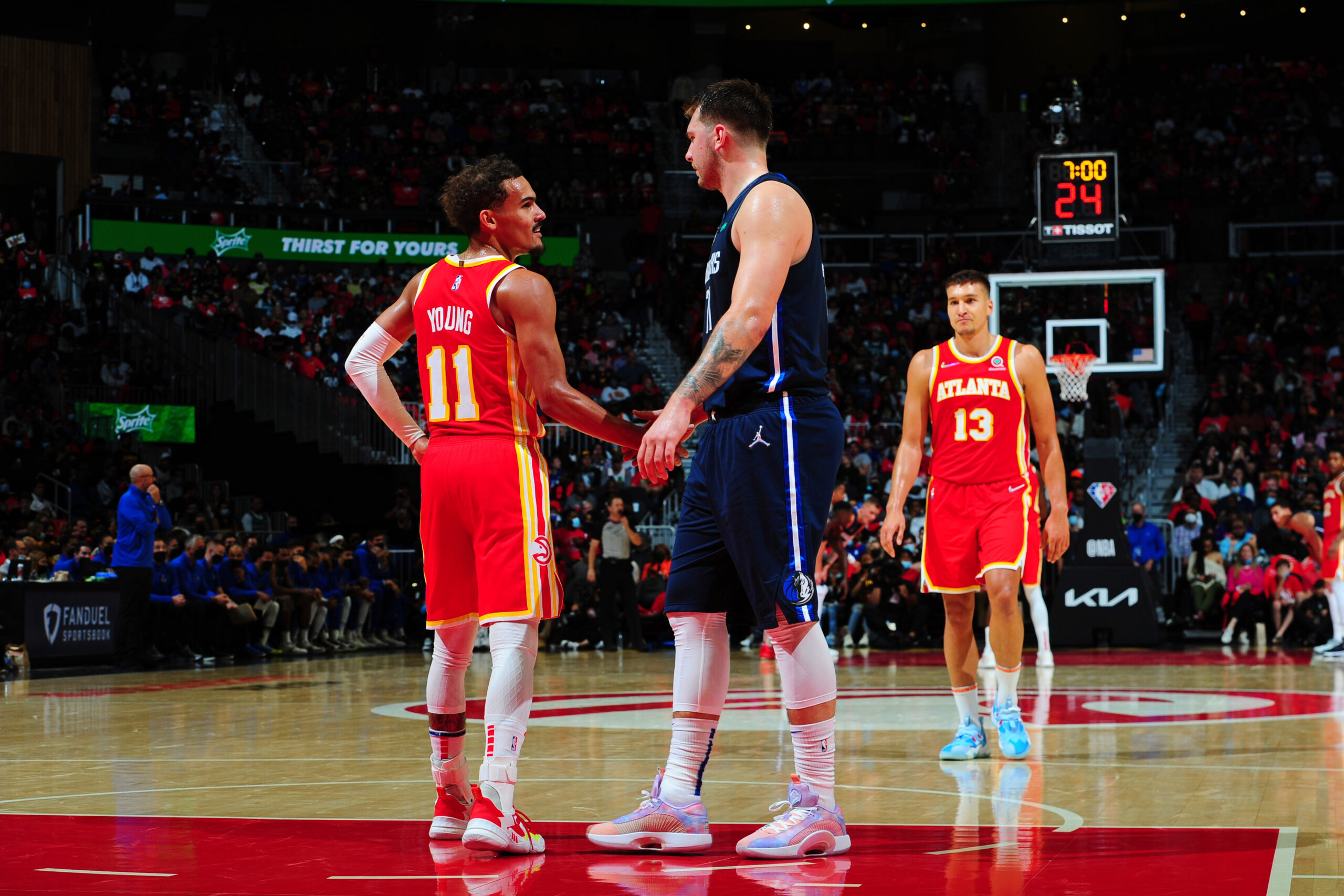 Hawks' depth elevating Trae Young over Luka Doncic and the Mavericks