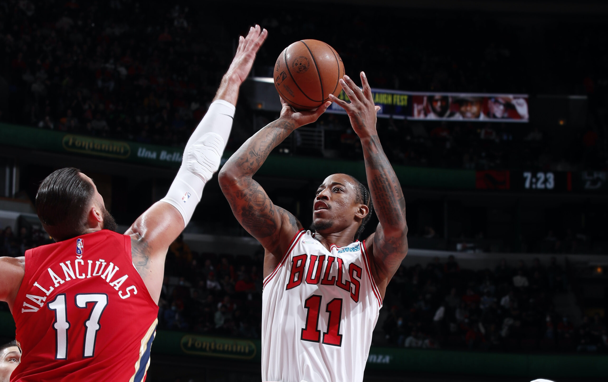 New-look Bulls fire on all cylinders in home opener