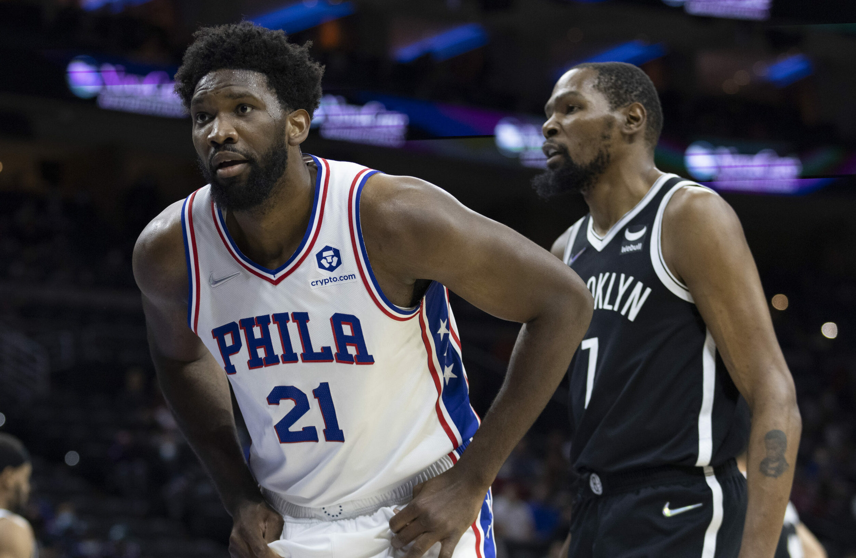 Sixers host Durant, Nets in East showdown