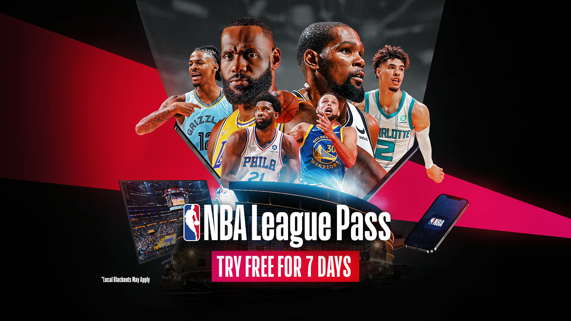 Try NBA League Pass free for 7 days