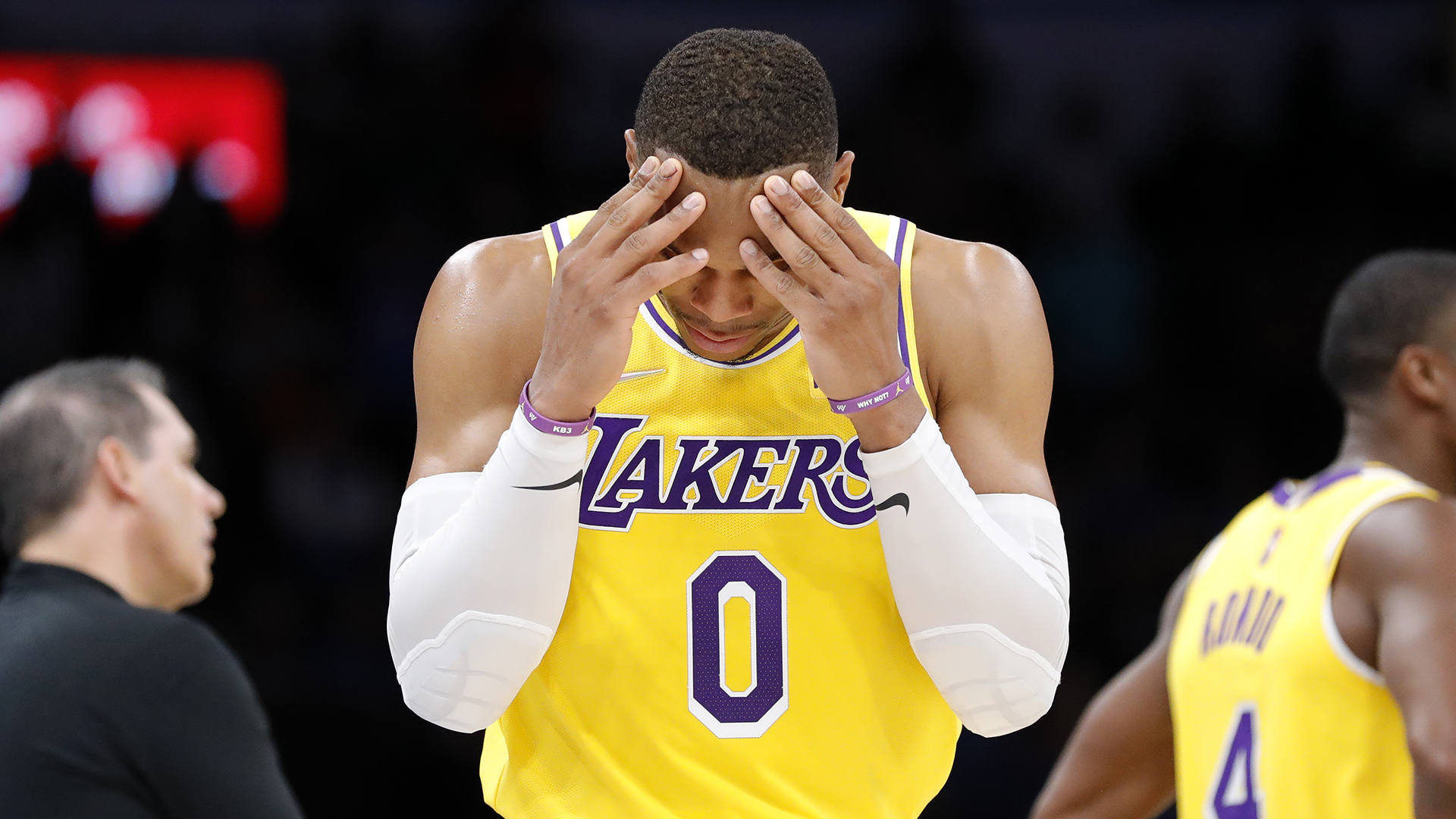 Growing pains continue for Westbrook, new-look Lakers