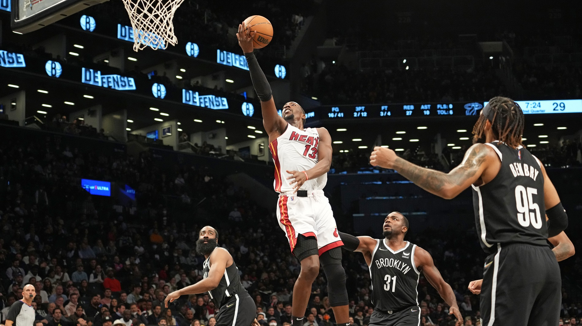 Heat surge away from Nets in 4th quarter